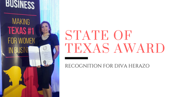 State of Texas Governor Small Business Award